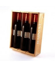 Caja 3 botellas vino